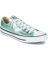 8c938b17e23d Converse - Chuck Taylor All Star Seasonal Metallics Ox Shoes (trainers) -  Lyst