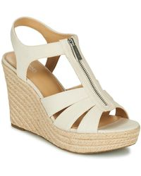 MICHAEL Michael Kors Berkley Sandals - Natural