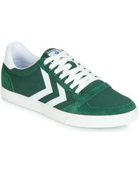 Hummel Slimmer Stadil Mono Low Shoes (trainers) - Green