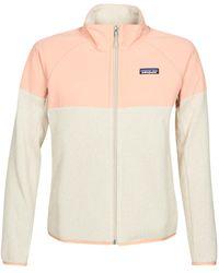 Patagonia W's Lw Better Jumper Shelled Jkt Fleece Jacket - Multicolour