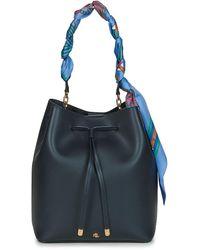 Lauren by Ralph Lauren Debby-drawstring-medium Shoulder Bag - Blue
