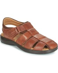 estilos frescos varios tipos de nuevo producto Fluchos Poseidon Men's Sandals In Brown for Men - Lyst