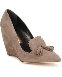 Rupert Sanderson Herrick Court Shoes - Brown