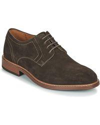 Rockport Kenton Plain Toe Oxford Lace-up Shoes - Brown