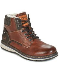 Tom Tailor Lorenza Mid Boots - Brown