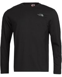The North Face L/s Easy Tee Long Sleeve T-shirt - Black