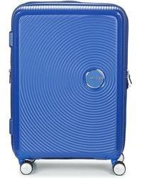 American Tourister Soundbox 67cm 4r Hard Suitcase - Blue