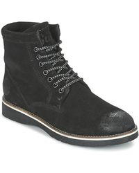 Superdry Stirling Boot Mid Boots - Black