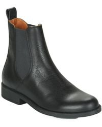 Aigle Caours Mid Boots - Black
