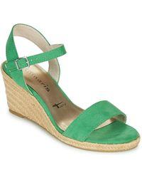 Tamaris Livia Sandals - Green