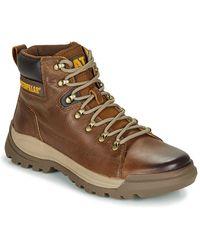 Caterpillar Brawn Mid Boots - Brown
