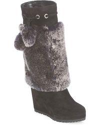 Sebastian Nigok High Boots - Black