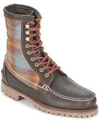 Timberland - Authentics 8 In Rugged Handsewn F/l Boot Mid Boots - Lyst
