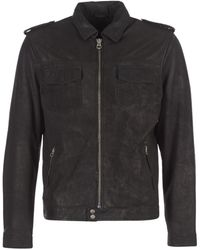 Pepe Jeans Narciso Leather Jacket - Black