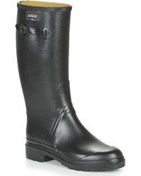 Aigle Cessac Wellington Boots - Black