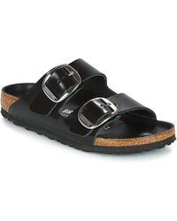 Birkenstock Arizona Big Buckle Mules / Casual Shoes - Black