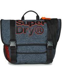 Superdry Nation Messenger Men's Messenger Bag In Grey
