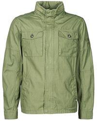 Petrol Industries Shirt Ss Short Sleeved Shirt - Green
