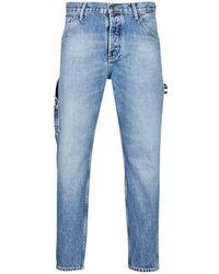 82381f86 Tommy Hilfiger - Tapered Carpenter Tj 2003 Prklr Men's Jeans In Blue - Lyst