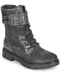 Mustang 1333507 Mid Boots - Grey