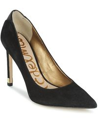 22bb0ea6e7e229 Sam Edelman - Dea Women s Court Shoes In Black - Lyst