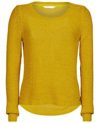 ONLY Onlgeena Jumper - Yellow