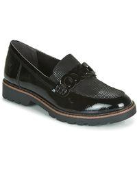 Tamaris Badam Loafers / Casual Shoes - Black