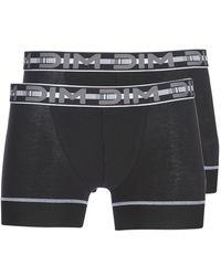 DIM 3d Flex Stay Fit X 2 Boxer Shorts - Black
