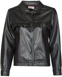 Moony Mood Pablis Leather Jacket - Black