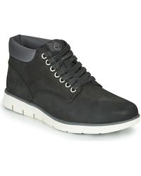 Timberland Bradstreet Chukka Leather Shoes (high-top Trainers) - Black