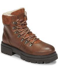 Fericelli Pistache Mid Boots - Brown
