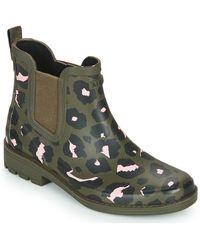 Aigle Carville Wellington Boots - Green