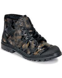 Pataugas Authentique Tp Mid Boots - Black