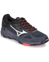 Mizuno Wave Mujin 5 Running Trainers - Black