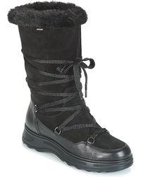 Geox D Hosmos B Abx Snow Boots - Black