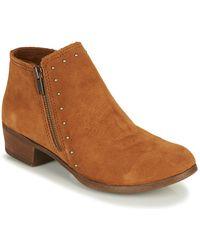 Minnetonka Brie Boot Mid Boots - Brown