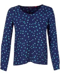S.oliver - Resotu Women's Blouse In Blue - Lyst