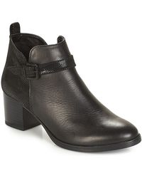 André Patty 3 Mid Boots - Black