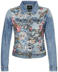 Desigual Brooklyn Denim Jacket - Blue