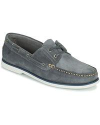 Lumberjack Navigator Boat Shoes - Grey