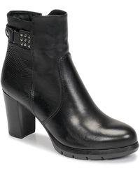 Tamaris Mesina Low Ankle Boots - Black