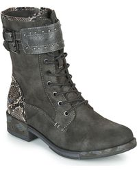 Mustang 1332506 Mid Boots - Grey