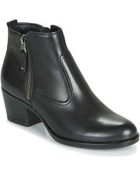 André Madrid Mid Boots - Black