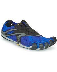 Vibram Fivefingers V-run Running Trainers - Blue