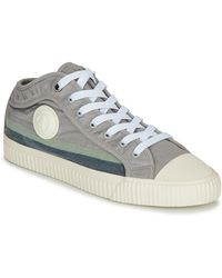 Pepe Jeans Malibu Shoes (high-top Trainers) - Gray