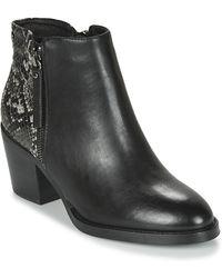 Xti 44627 Low Ankle Boots - Black