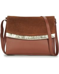 Betty London Odale Shoulder Bag - Brown