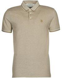 SELECTED Slhtwist Polo Shirt - Natural