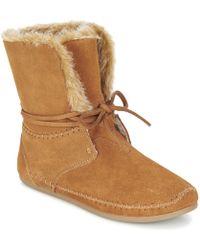 TOMS Zahara Mid Boots - Brown