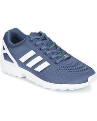odebrane nowy design buty jesienne adidas Zx Flux W Women's Shoes (trainers) In Red - Lyst